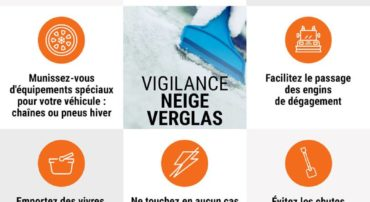 Alerte vigilance orange « neige – verglas» sur le département de l'Eure Restrictions de circulation