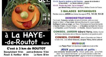 N'oubliez pas les légumes le dimanche 6 octobre de 10 à 18h à La Haye de Routot!